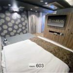 歌舞伎町 ホテル アトラス 603号室