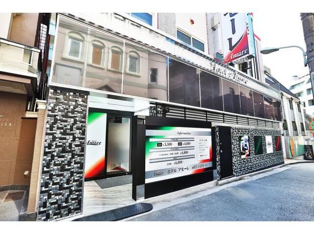 ホテル 渋谷 アモーレ